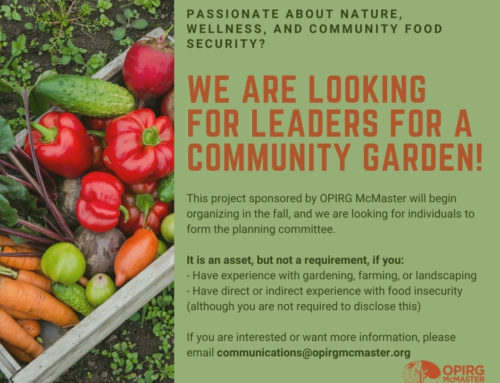 Want to be on the planning committee for a community garden?