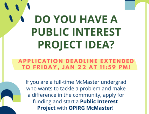 Start a Public Interest Project!
