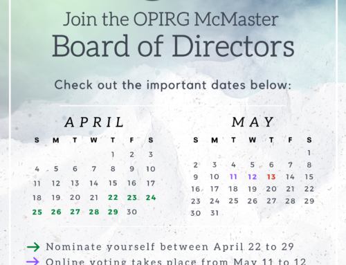 OPIRG Board of Directors Nomination Period 2021