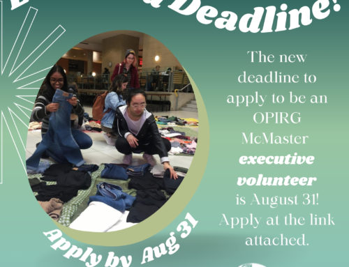 Extended deadline for executive volunteer applications!
