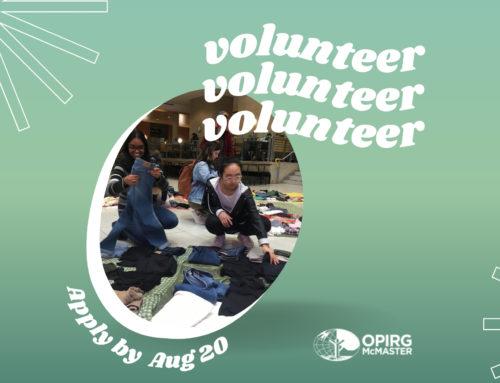 Executive Volunteer Applications Open!